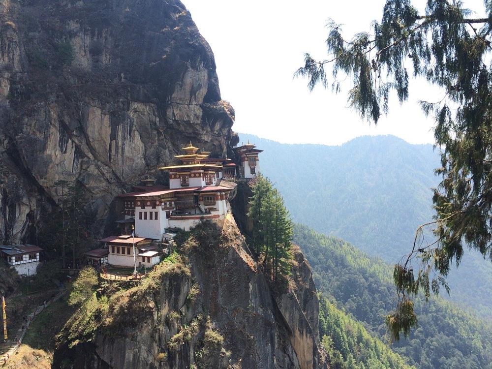 Nido del Tigre en Bután