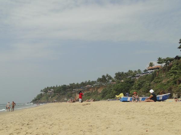 Playa de Varkala