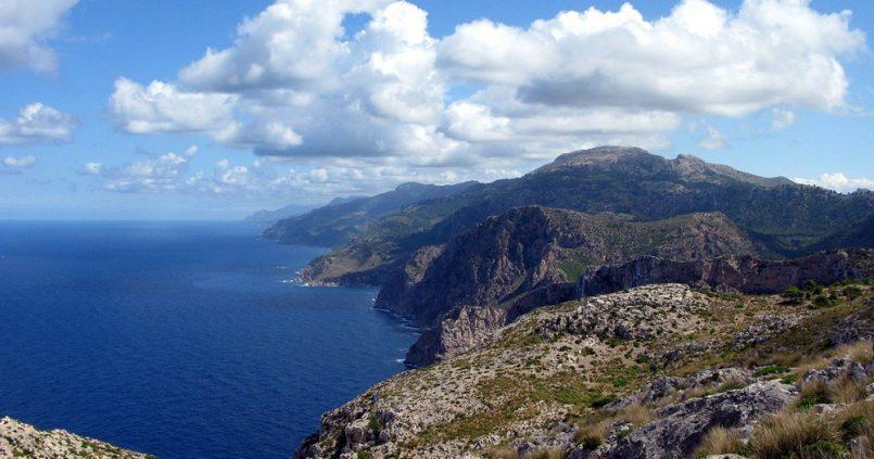Sierra de la Tramontana en Mallorca