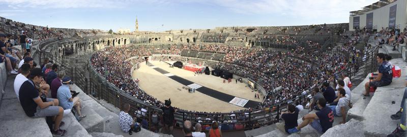 Arena de Nimes, Francia