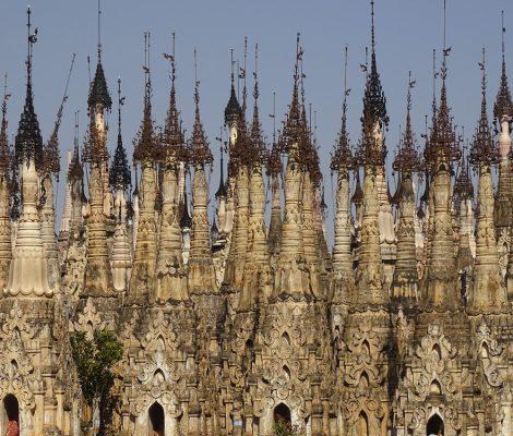 Kakku Pagodas en Myanmar