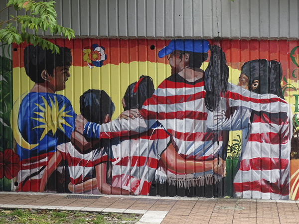 Arte urbano en Kuala Lumpur