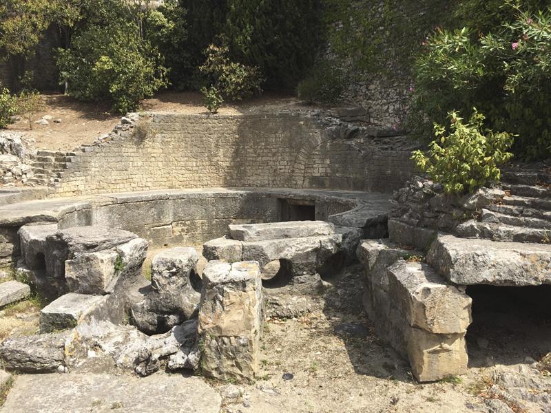 Castellum Aquae en Nimes