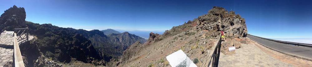 Mejores miradores en la isla de La Palma