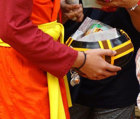 Ceremonia budista, experiencia cultural en Tailandia