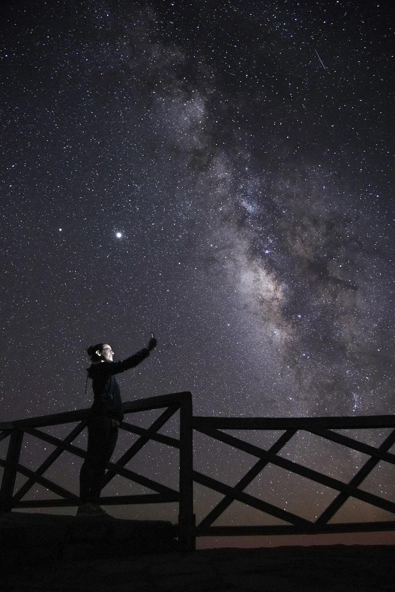 Vía Láctea en Canarias