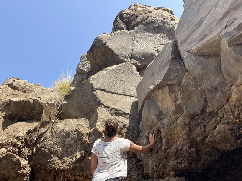 Petroglifos El Verde