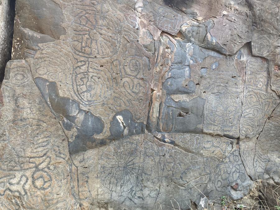 Petroglifos La Fajana